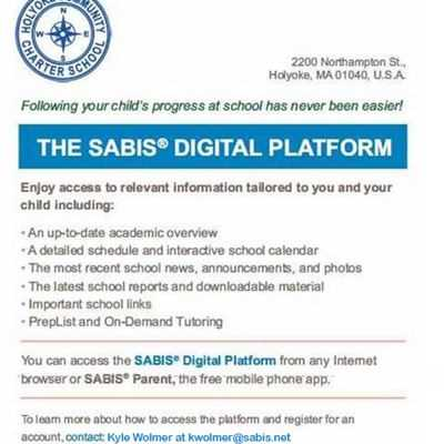 Request Access to SABIS Digital Platform NOW!